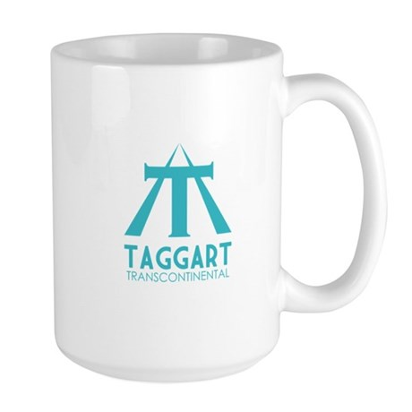 Taggart Transcontinental Blue Large Mug