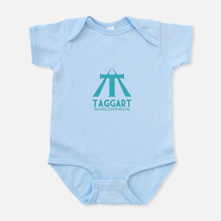 Taggart Transcontinental Blue Infant Bodysuit