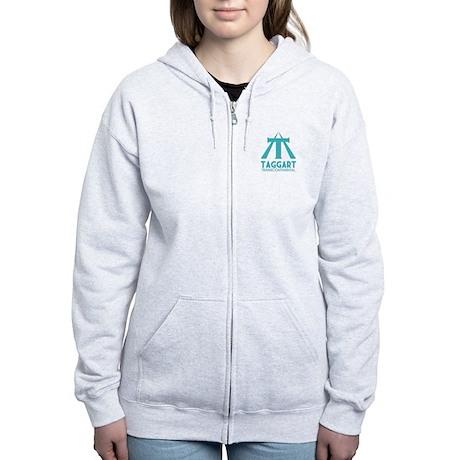 Taggart Transcontinental Blue Women's Zip Hoodie