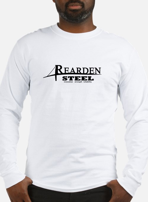 Rearden Steel Black Long Sleeve T-Shirt