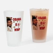 NOT AFRAID Drinking Glass