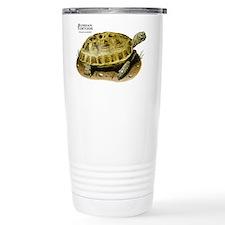 Russian Tortoise Stainless Steel Travel Mug