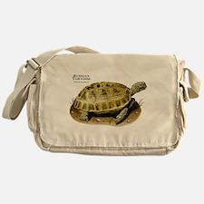 Russian Tortoise Messenger Bag