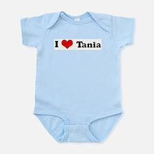 I Love Tania Infant Creeper