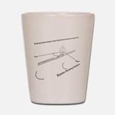 International Rowing Shot Glass