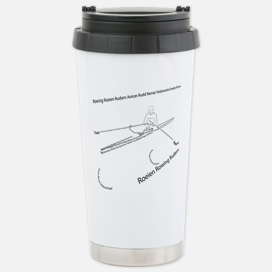 International Rowing Stainless Steel Travel Mug
