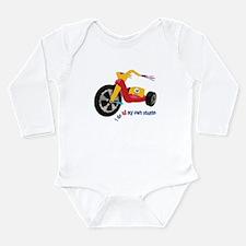 Big Wheel Long Sleeve Infant Bodysuit
