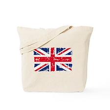 UK Flag Distressed Tote Bag