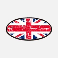 UK Flag Distressed Patches