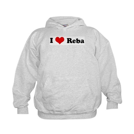 I Love Reba Kids Hoodie