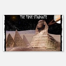 the true stargate Decal