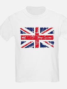 UK Flag Distressed T-Shirt