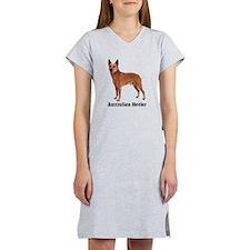 Australian Heeler Cattle Dog Women's Nightshirt