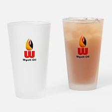 Wyatt Oil Drinking Glass
