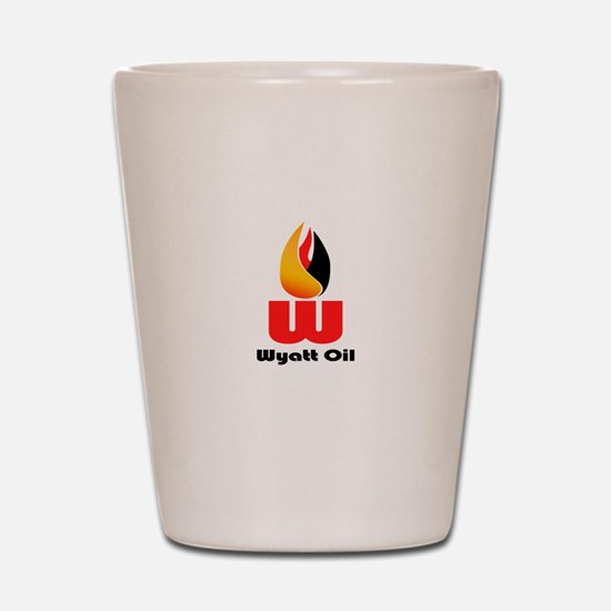 Wyatt Oil Shot Glass