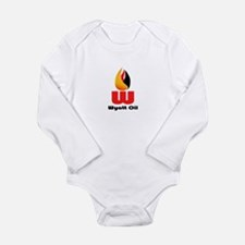 Wyatt Oil Long Sleeve Infant Bodysuit
