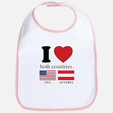 USA-AUSTRIA Bib