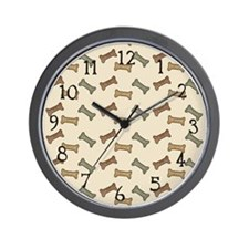 Bone Appetit Wall Clock