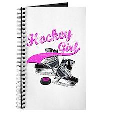 Cute Hockey player Journal