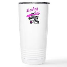 Cute Womens hockey Travel Mug