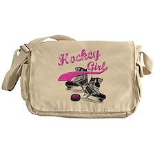 Cute Youth hockey Messenger Bag