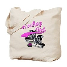 Unique Girls hockey Tote Bag