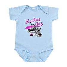 Unique Girls hockey Infant Bodysuit
