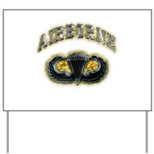 US Army Airborne Wings Yard Sign