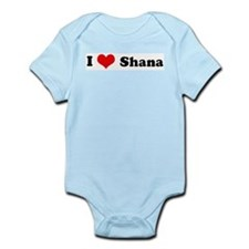 I Love Shana Infant Creeper