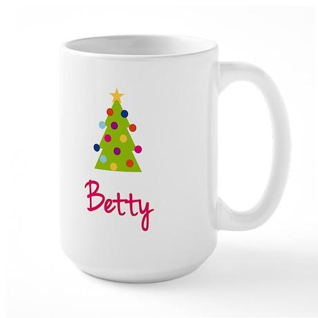 Christmas Tree Betty Large Mug