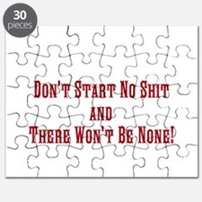 Don't Start No Shit and There Puzzle