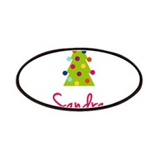 Christmas Tree Sandra Patches