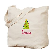 Christmas Tree Donna Tote Bag