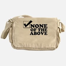 Monty Buys Your Vote Messenger Bag