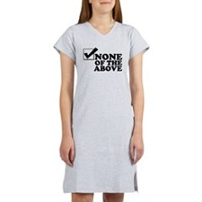 Monty Buys Your Vote Women's Nightshirt