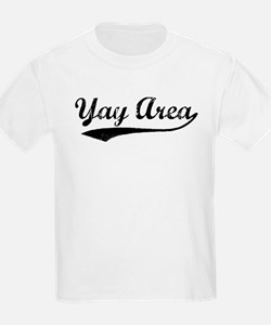 Vintage Yay Area Kids T-Shirt
