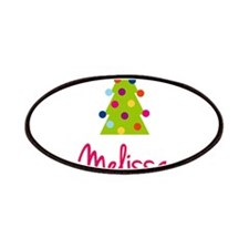Christmas Tree Melissa Patches