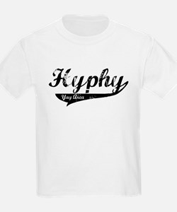 Hyphy Yay Area Kids T-Shirt