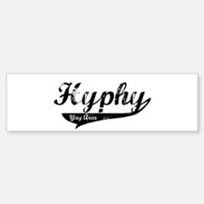 Hyphy Yay Area Bumper Bumper Bumper Sticker