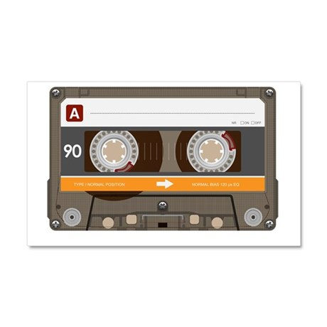 Bitchin' '80s Cassette Tape Car Magnet 20 x 12