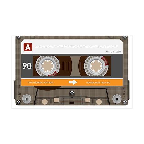 Bitchin' '80s Cassette Tape 38.5 x 24.5 Wall Peel