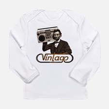 BOOMBOX ABE LINCOLN Long Sleeve Infant T-Shirt