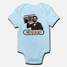 BOOMBOX ABE LINCOLN Infant Bodysuit