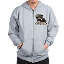 BOOMBOX ABE LINCOLN Zip Hoodie