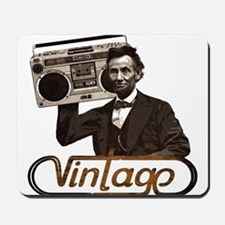 BOOMBOX ABE LINCOLN Mousepad