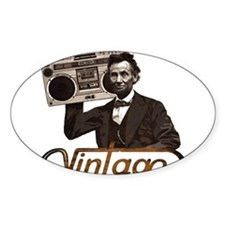 BOOMBOX ABE LINCOLN Decal