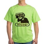 BOOMBOX ABE LINCOLN Green T-Shirt