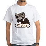 BOOMBOX ABE LINCOLN White T-Shirt