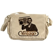 BOOMBOX ABE LINCOLN Messenger Bag