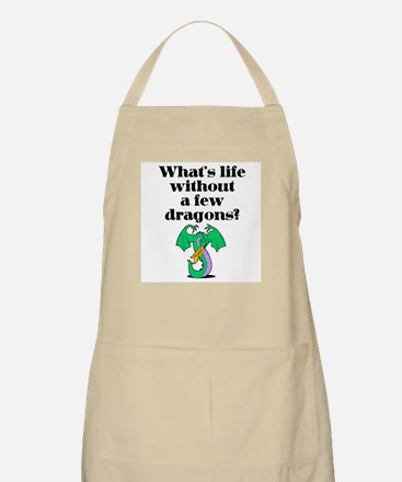 Life Without Dragons BBQ Apron